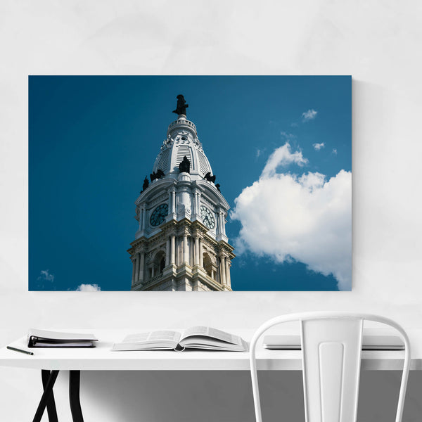 Philadelphia City Hall Urban Art Print