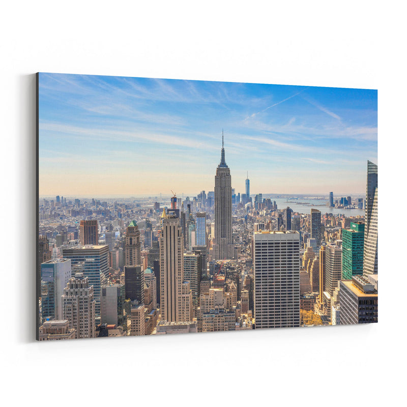 Empire State New York Skyline Canvas Art Print