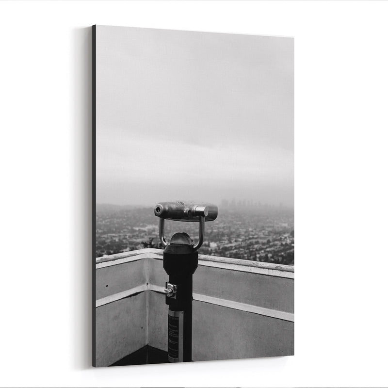 Griffith Park Los Angeles Hills Canvas Art Print
