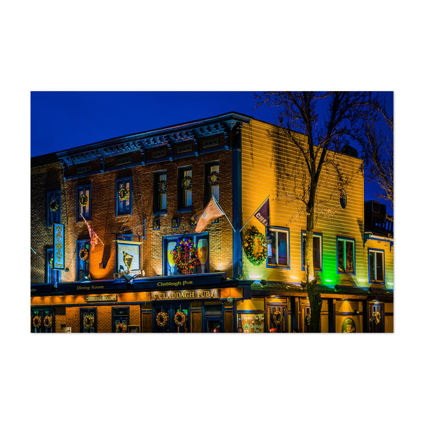 Irish Pub Sign Baltimore Art Print