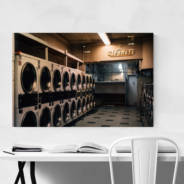 Coin Laundry New York City Art Print