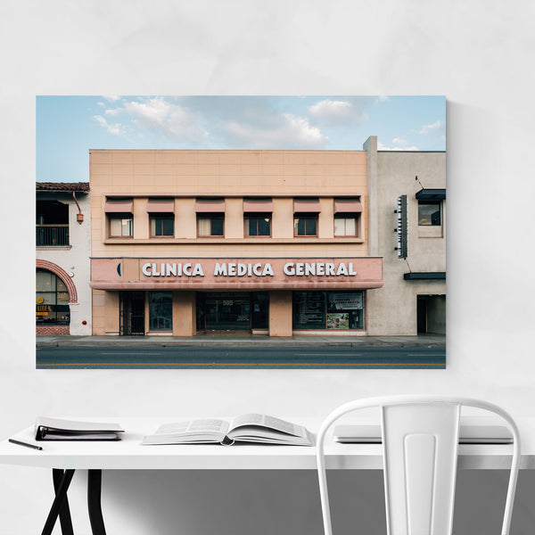 Downtown Santa Ana California Art Print