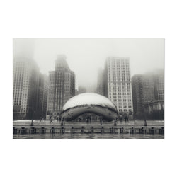 Bean Chicago Illinois Cityscape Art Print