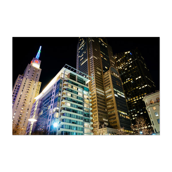 Dallas, Texas Downtown Skyline Art Print