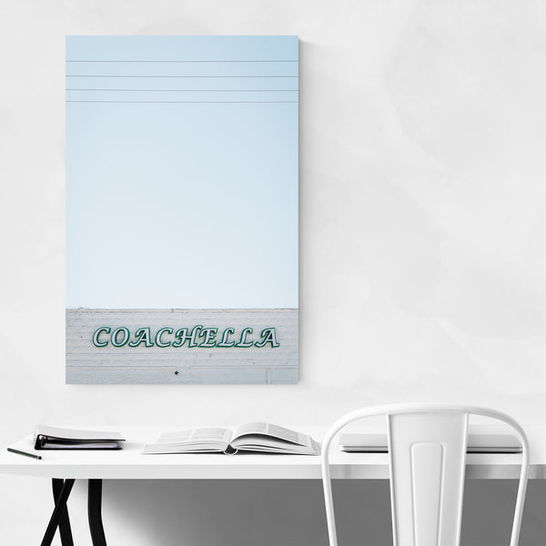 Coachella Bar Sign California Art Print