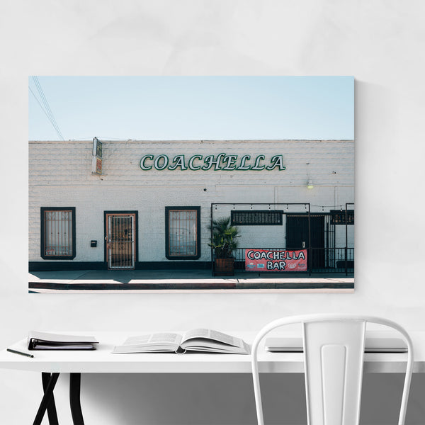 Coachella Bar California Photo Art Print