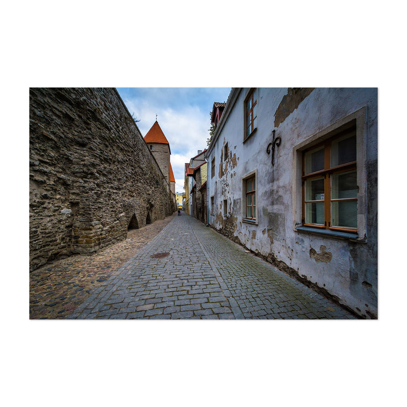 Tallinn Architecture in Old Town Art Print