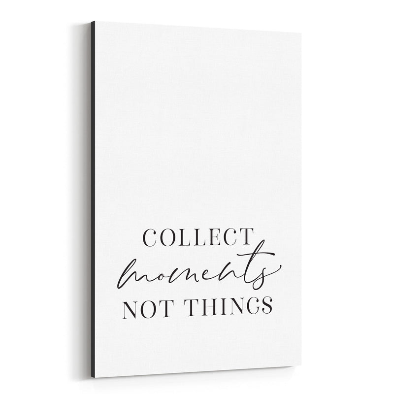Minimal Inspirational Typography Canvas Art Print