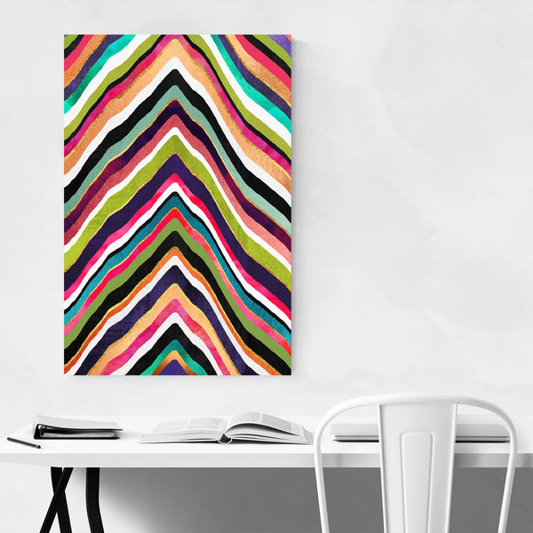 Digital Minimal Colors Art Print