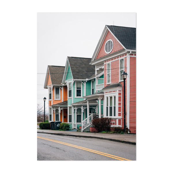Knoxville Tennessee Houses Art Print