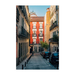 Madrid Spain Malasana Colorful Art Print