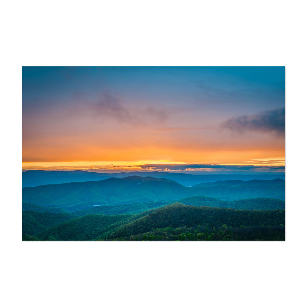 Shenandoah Blue Ridge Mountains Art Print