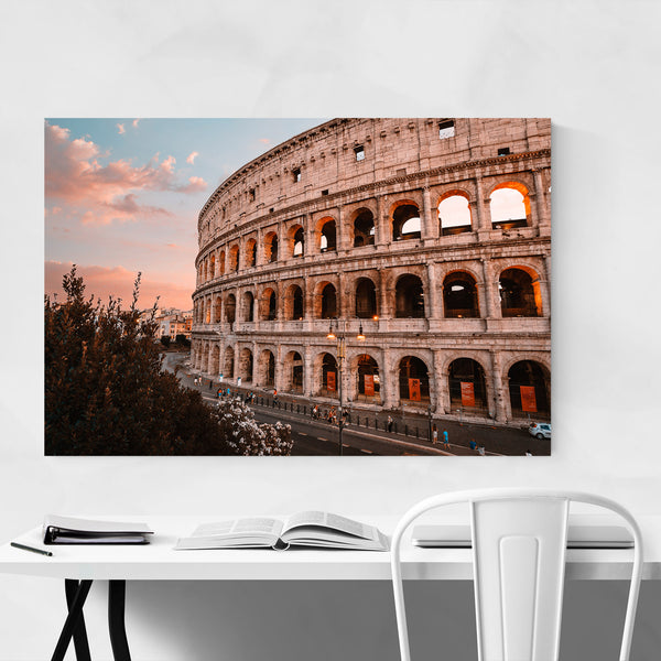 Colosseum Rome Italy Europe City Art Print