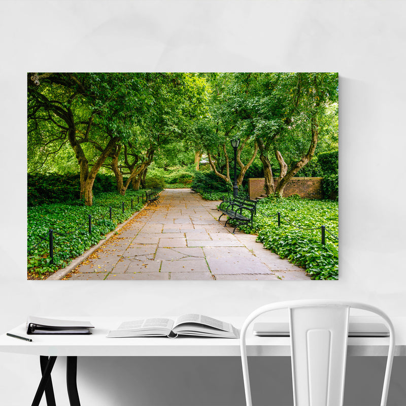 Central Park Trees New York City Canvas Art Print