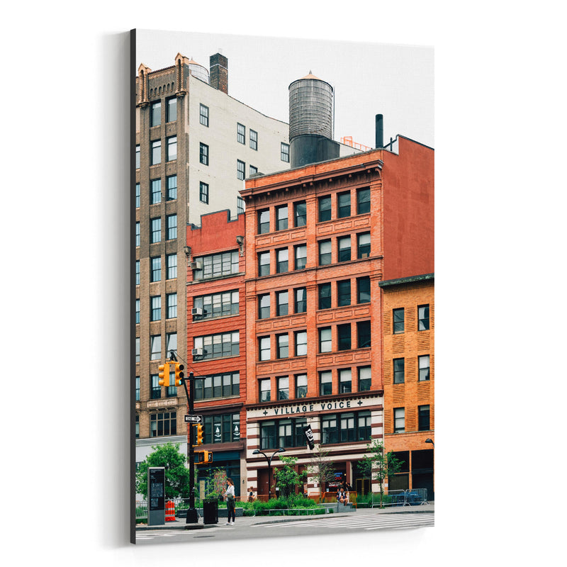 Cooper Square New York City NYC Canvas Art Print