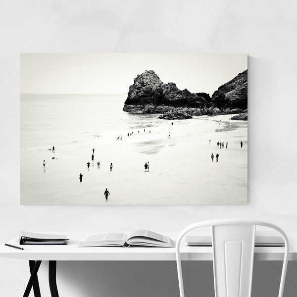 Cornwall UK Beach Landscape Art Print