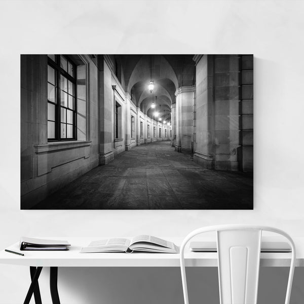 Black & White Washington, DC Art Print