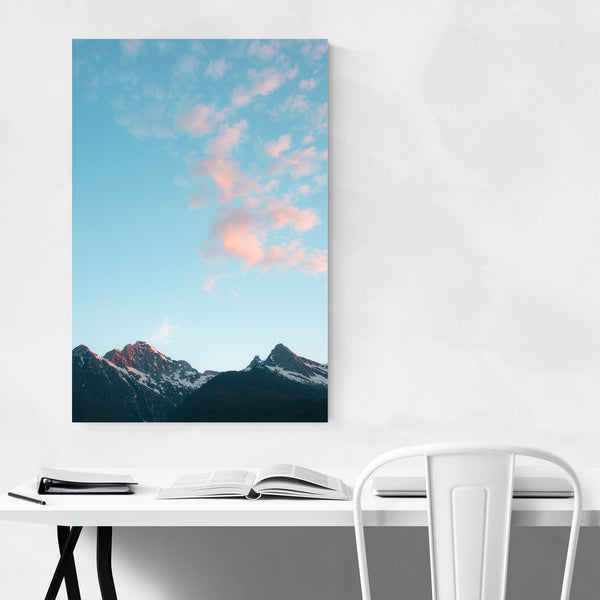 North Cascades Diablo Lake WA Art Print