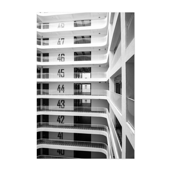 Singapore Architecture Photo Art Print