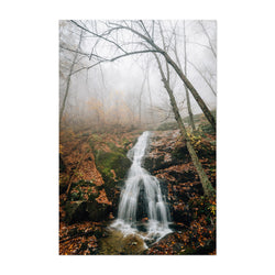 Crabtree Falls Virginia Autumn Art Print