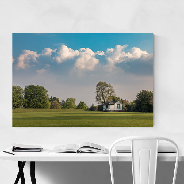Crichton Scotland Rural Fields Art Print