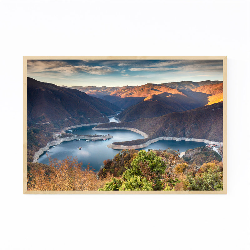 Bulgaria Mountains Nature Framed Art Print