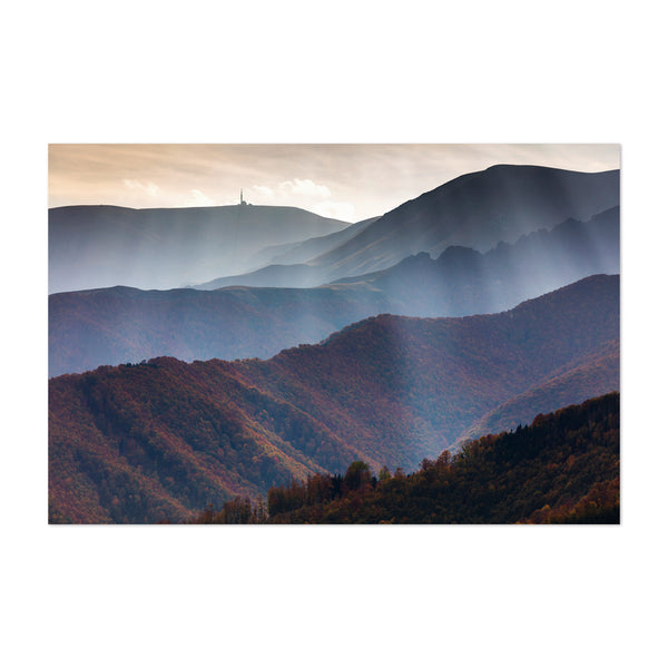 Bulgaria Mountains Autumn Art Print