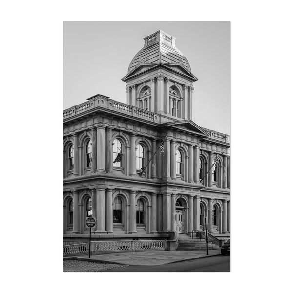Black & White Portland Maine Art Print