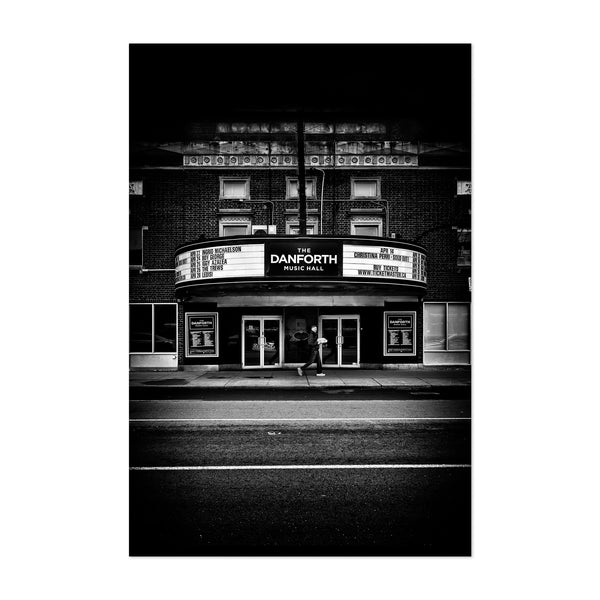 Danforth Music Hall Toronto Art Print
