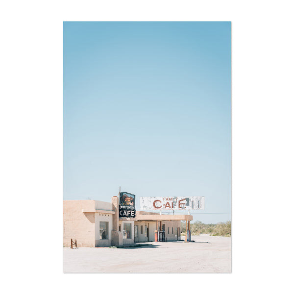 Desert Ghost Town California Art Print
