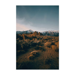 Sierra Nevada Mountains Nature Art Print