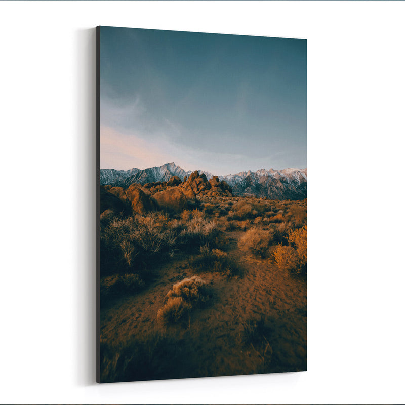 Sierra Nevada Mountains Nature Canvas Art Print