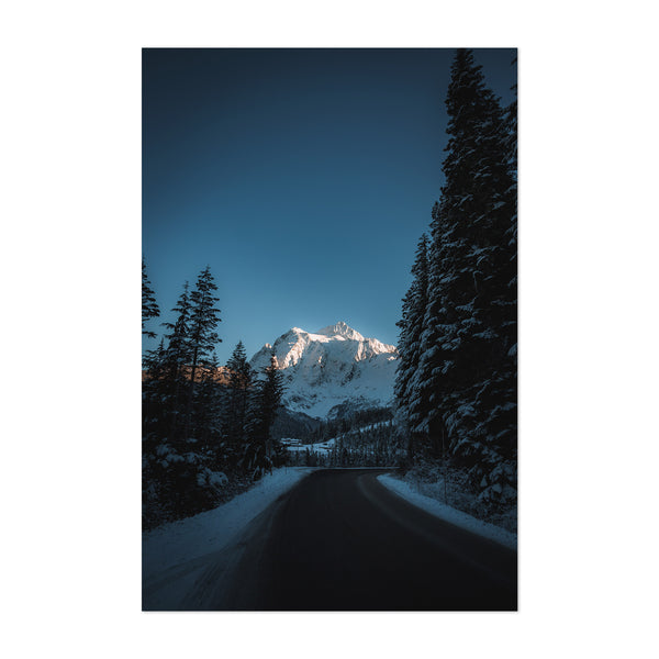 Mt. Shuksan Washington Nature Art Print