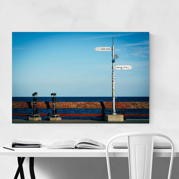 Toronto Islands Fishing Pier Art Print