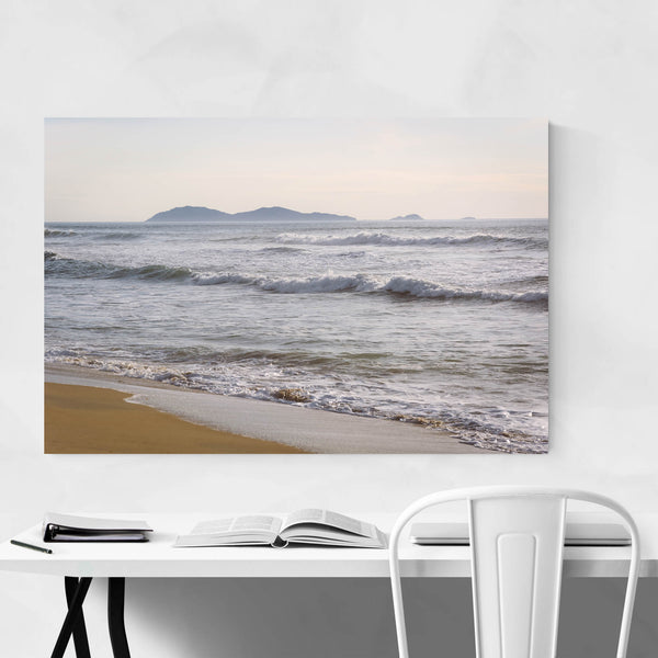 Pacific Islands Beach San Diego Art Print