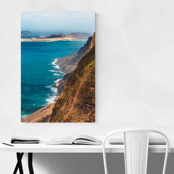Lanzarote Canary Islands Cliffs Art Print
