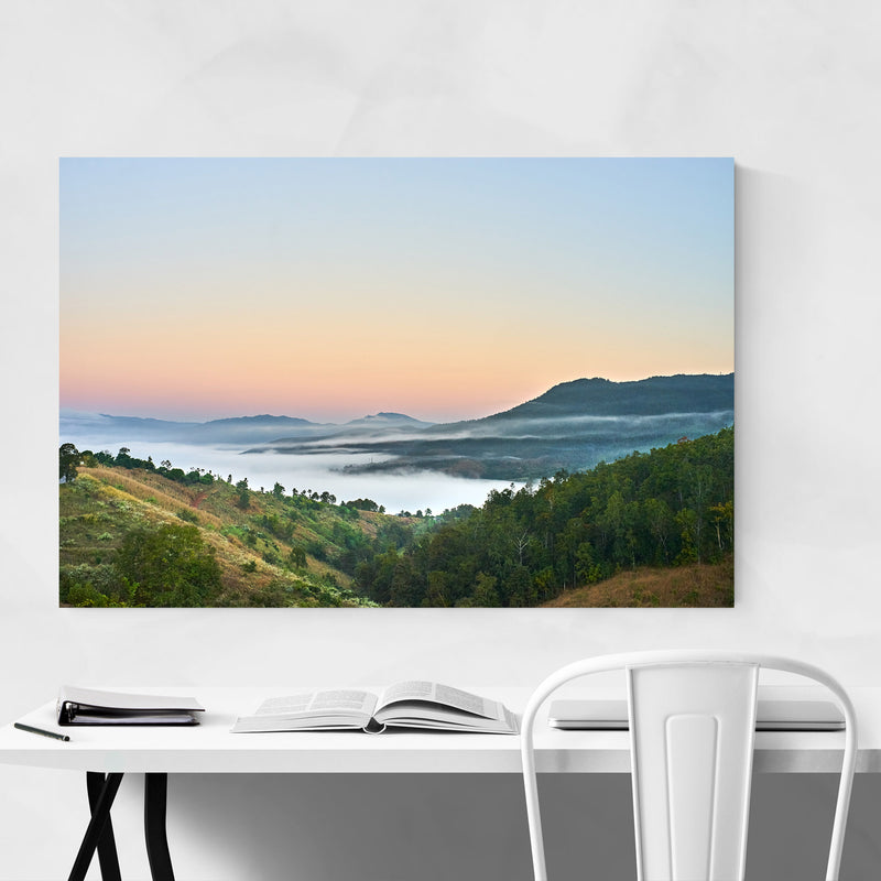 Chiang Mai Thailand Mountains Art Print