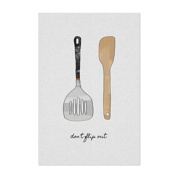 Cute Kitchen Cooking Sign Art Print