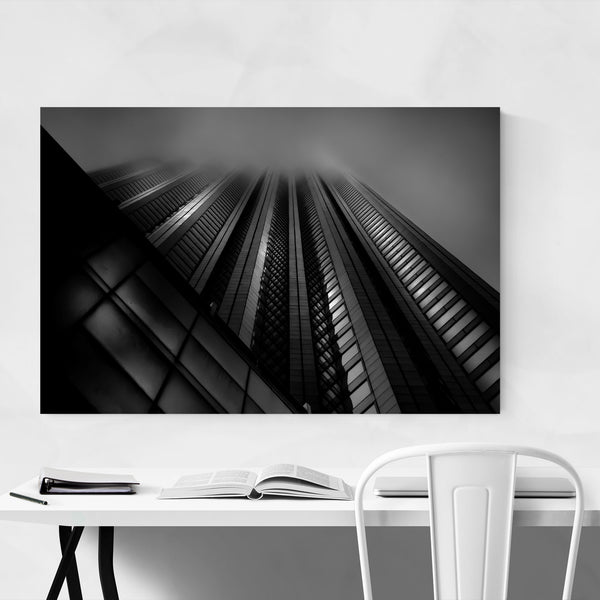 Toronto Black White Photography Art Print