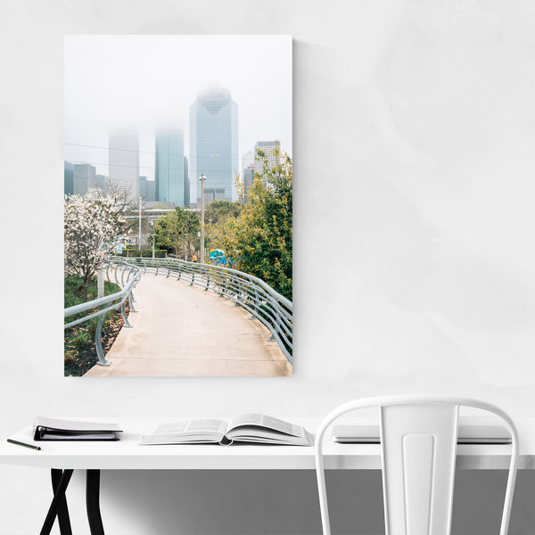 Houston Texas Skyline Cityscape Art Print