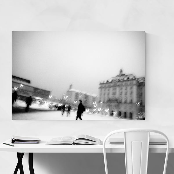 Dresden Germany Blur Abstract Art Print