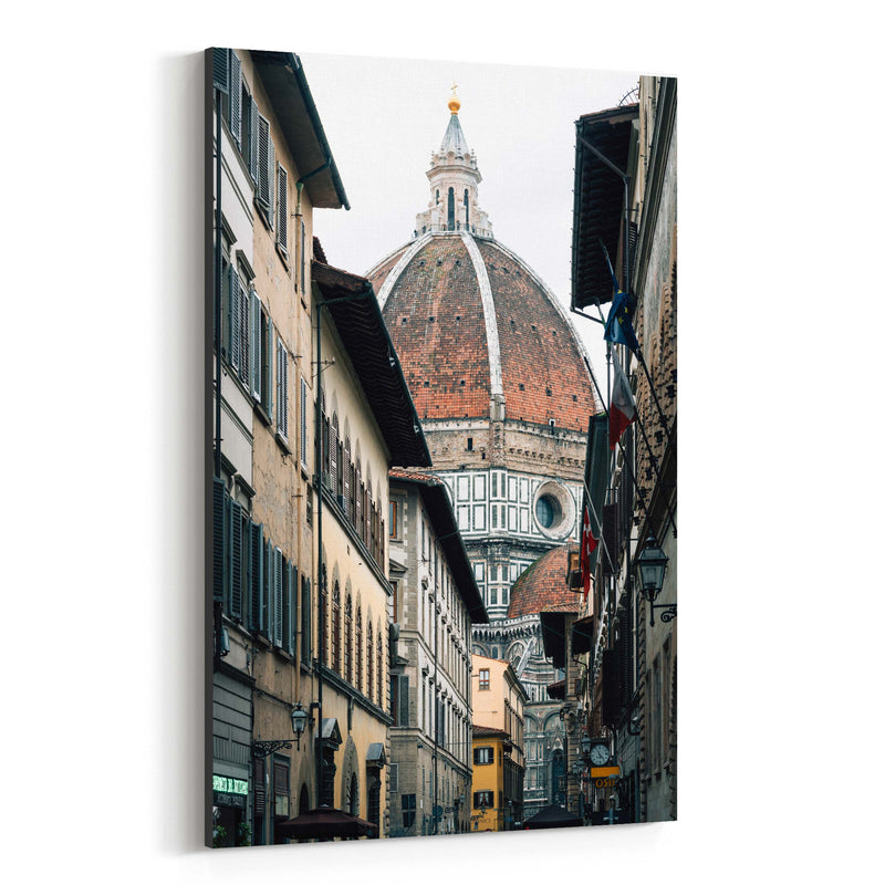 Florence Italy Duomo Photo Canvas Art Print