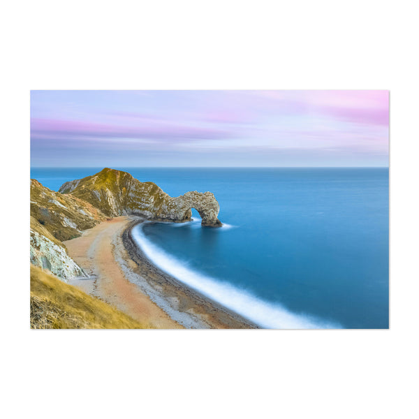 Durdle Door Jurassic Coast UK Art Print