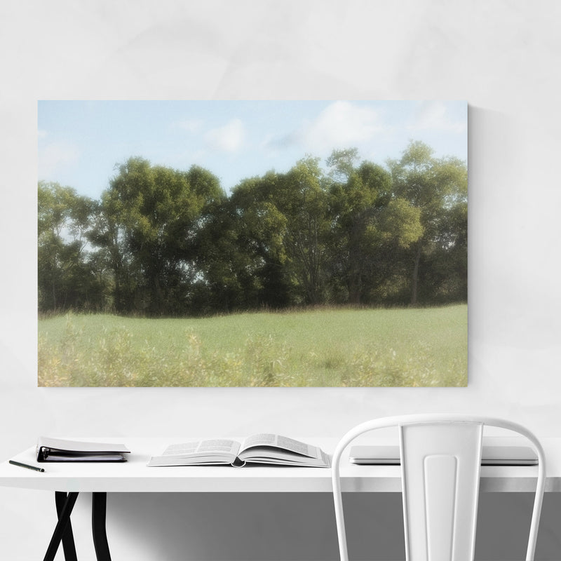 Tree Forest Floral Botanical Canvas Art Print