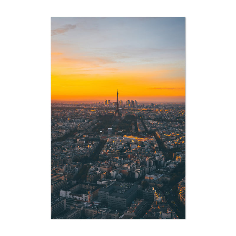 Eiffel Tower Paris France Europe Art Print