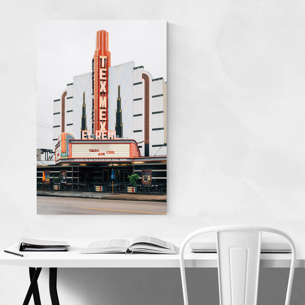 Houston Texas Montrose El Real Art Print
