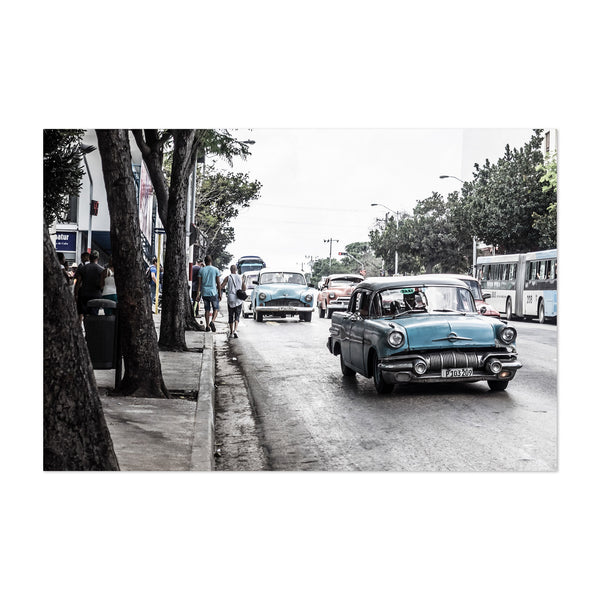 Old Cars Havana Cuba Photography Art Print