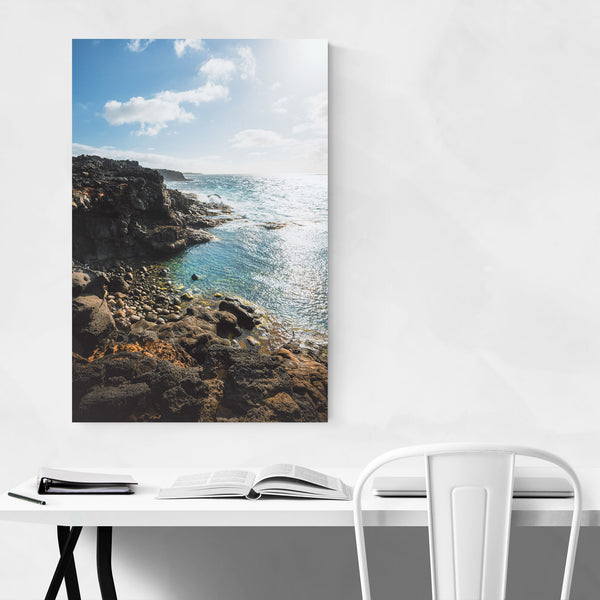 Lanzarote Canary Islands Coastal Art Print