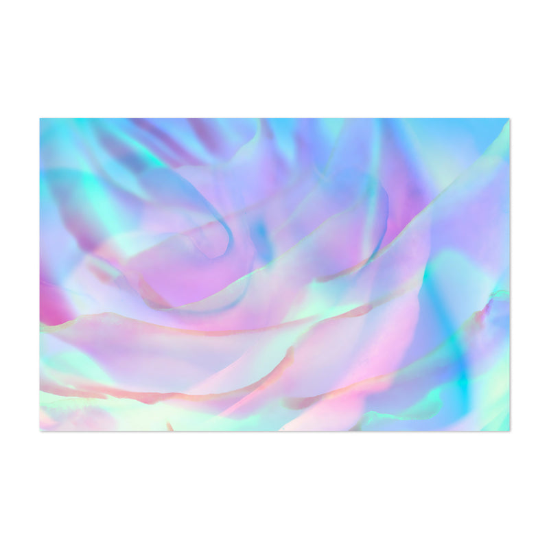 Abstract Rose Digital Art Floral Art Print