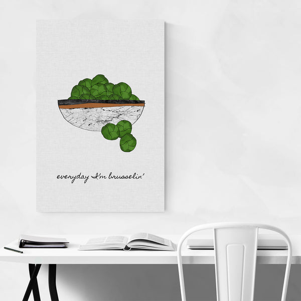 Vegetables Kitchen Food Cooking Art Print